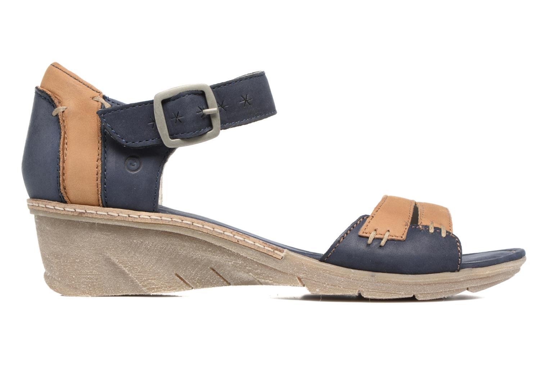 Sandales et nu-pieds Khrio Candella Bleu vue derrière