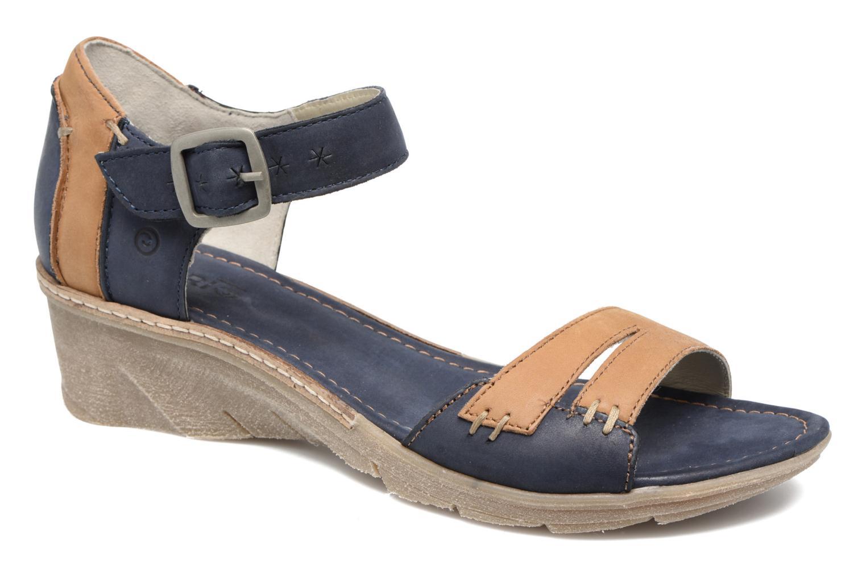 Sandales et nu-pieds Khrio Candella Bleu vue détail/paire