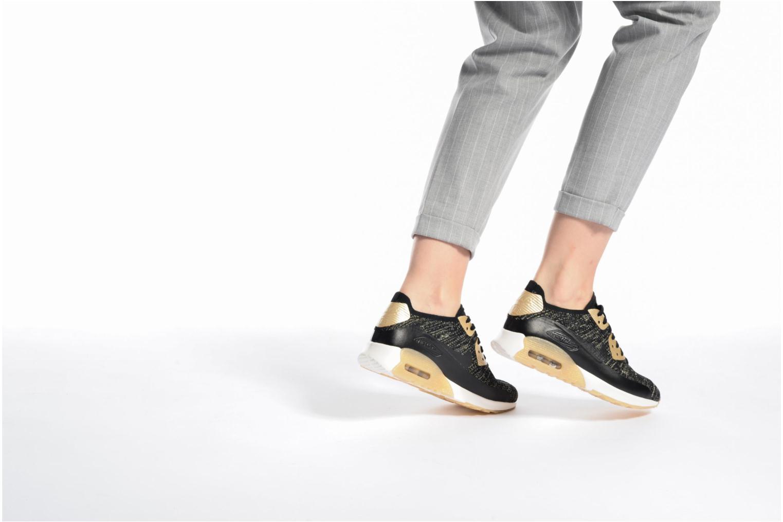 Baskets Nike W Air Max 90 Ultra 2.0 Fk Mtlc Noir vue bas / vue portée sac
