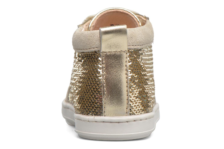 Bottines et boots Shoo Pom Bouba New Cover Or et bronze vue droite