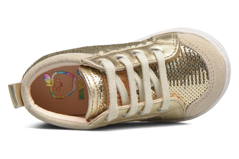 Bottines et boots Shoo Pom Bouba New Cover Or et bronze vue gauche