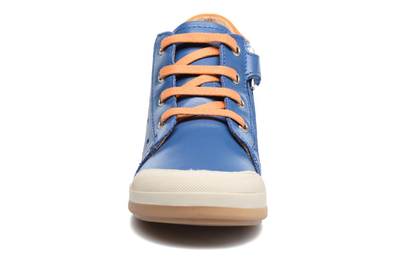 Baskets Shoo Pom Kidur Jump Bleu vue portées chaussures