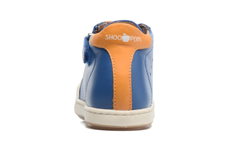 Baskets Shoo Pom Kidur Jump Bleu vue droite