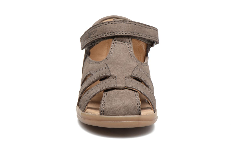Sandales et nu-pieds Shoo Pom Pika Be Boy Gris vue portées chaussures