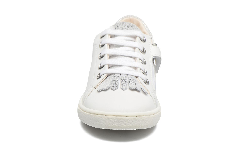 Baskets Shoo Pom Ducky Mex Blanc vue portées chaussures