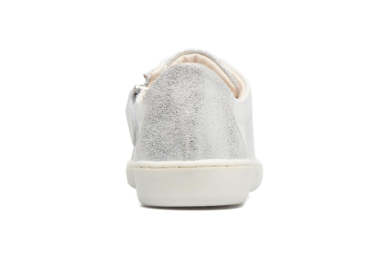 Baskets Shoo Pom Ducky Mex Blanc vue droite