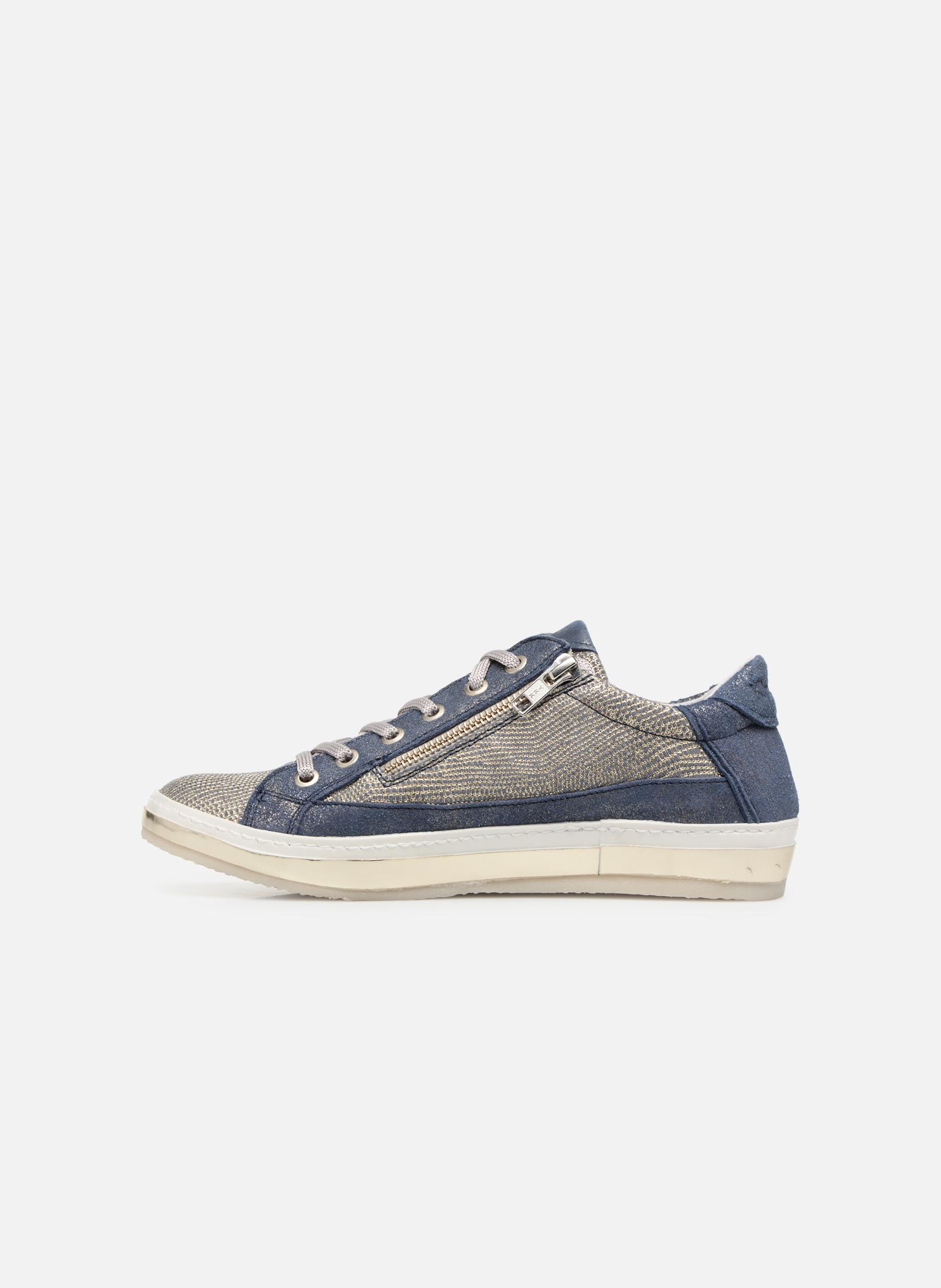 Sneaker Khrio Giulia blau ansicht von vorne