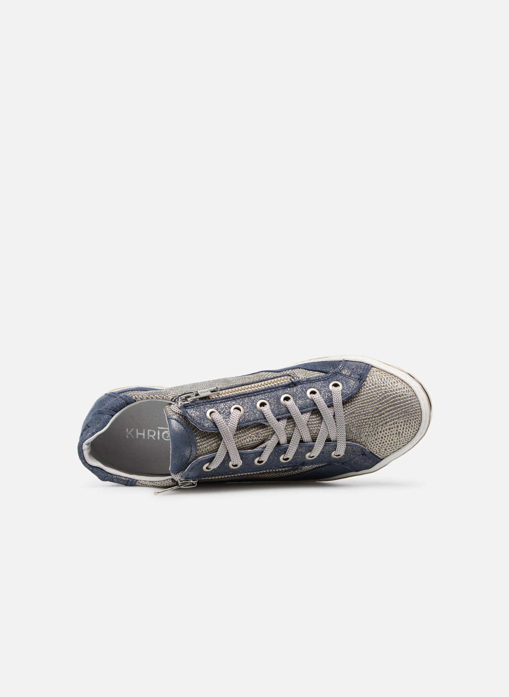 Sneaker Khrio Giulia blau ansicht von links