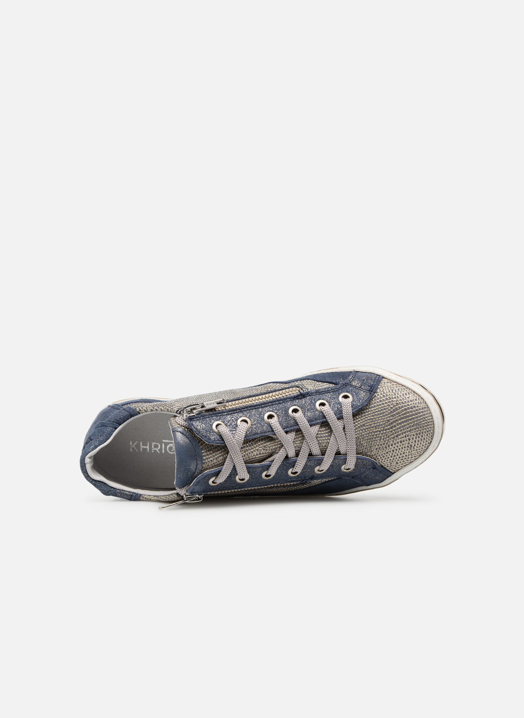 Trainers Khrio Giulia Blue view from the left