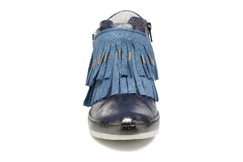Baskets Khrio Sofia Bleu vue portées chaussures