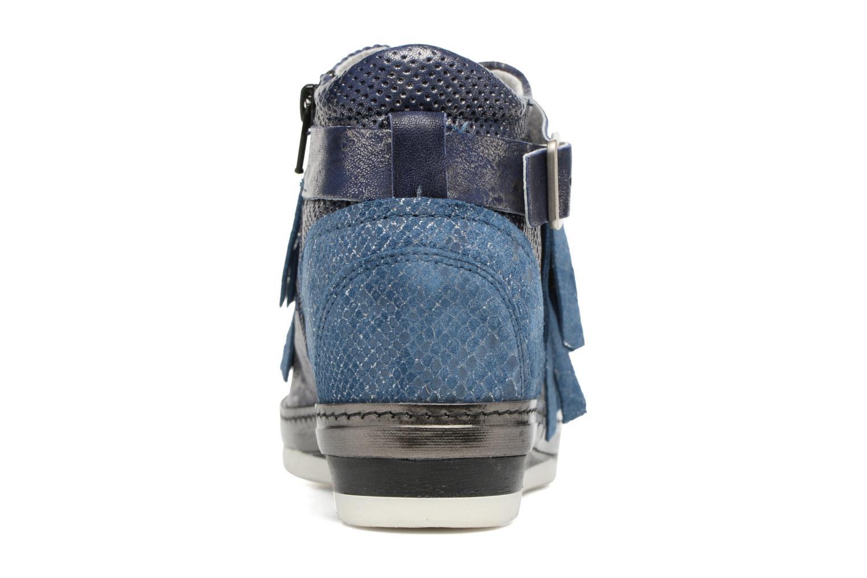 Baskets Khrio Sofia Bleu vue droite