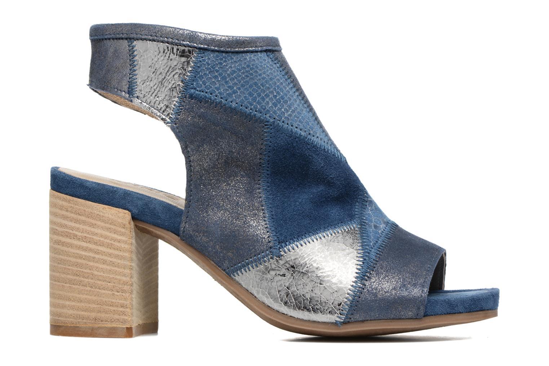 Sandales et nu-pieds Khrio Aurea Bleu vue derrière