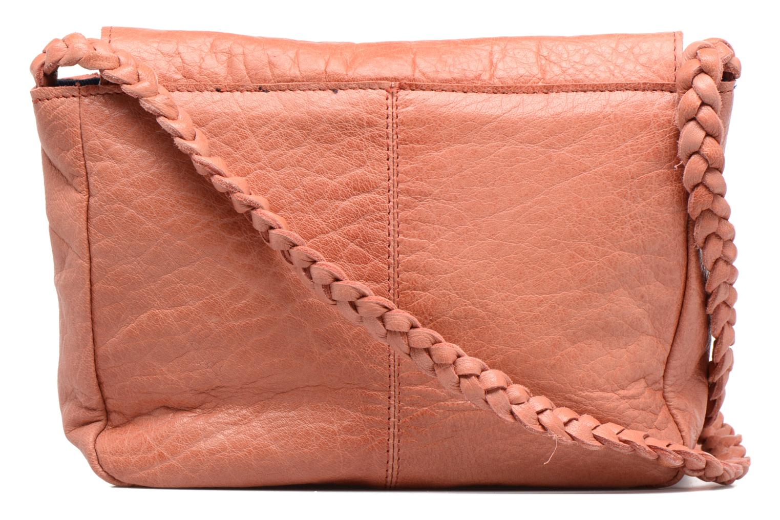 Sacs à main Pieces Frabo Leather Crossover bag Rose vue face