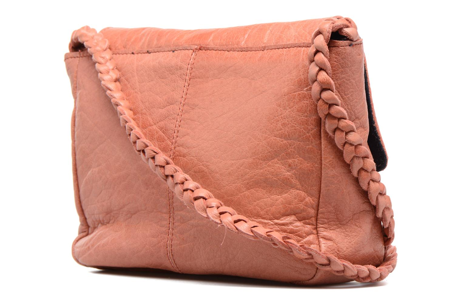 Sacs à main Pieces Frabo Leather Crossover bag Rose vue droite