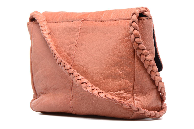 Sacs à main Pieces Frabo Leather Crossover bag Rose vue droite