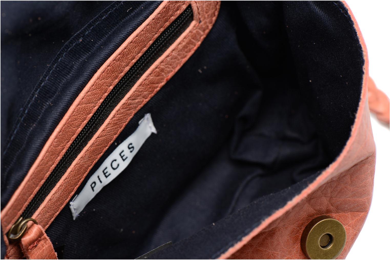 Sacs à main Pieces Frabo Leather Crossover bag Rose vue derrière