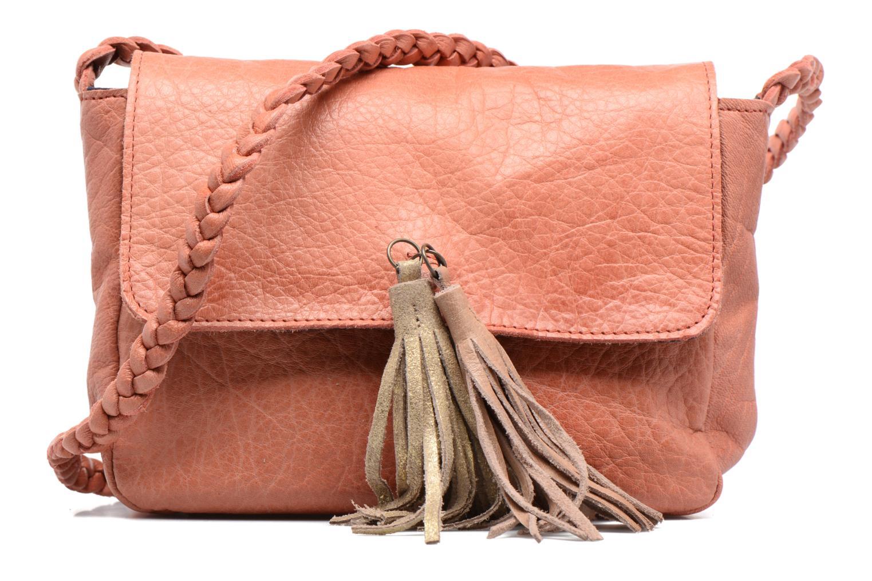 Sacs à main Pieces Frabo Leather Crossover bag Rose vue détail/paire