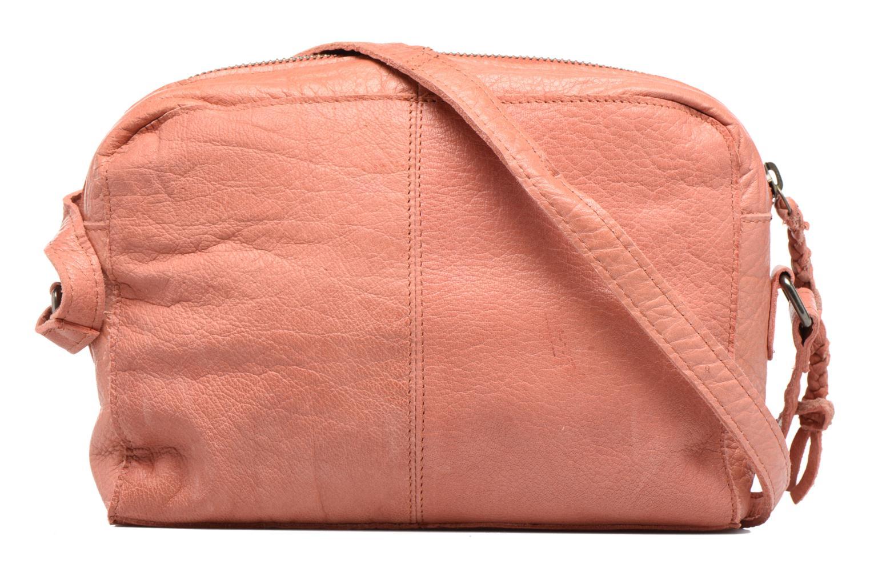 Sacs à main Pieces Jace Leather Crossover bag Rose vue face