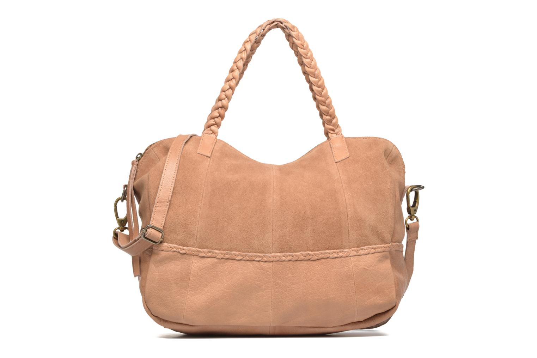 Sacs à main Pieces Cameo Leather bag Beige vue détail/paire
