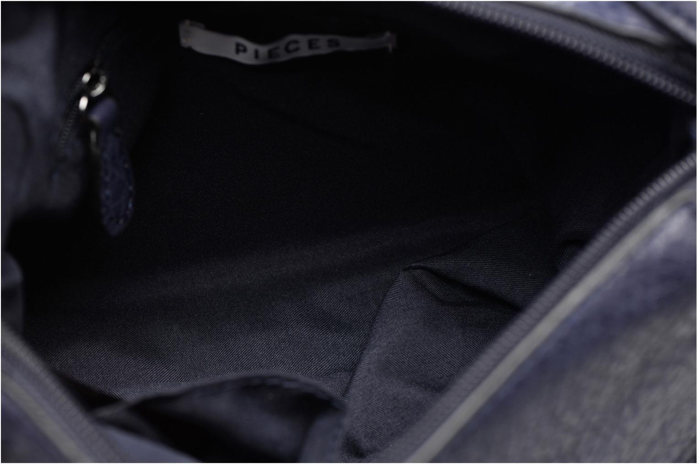 Handtassen Pieces Laney Crossbody Blauw achterkant
