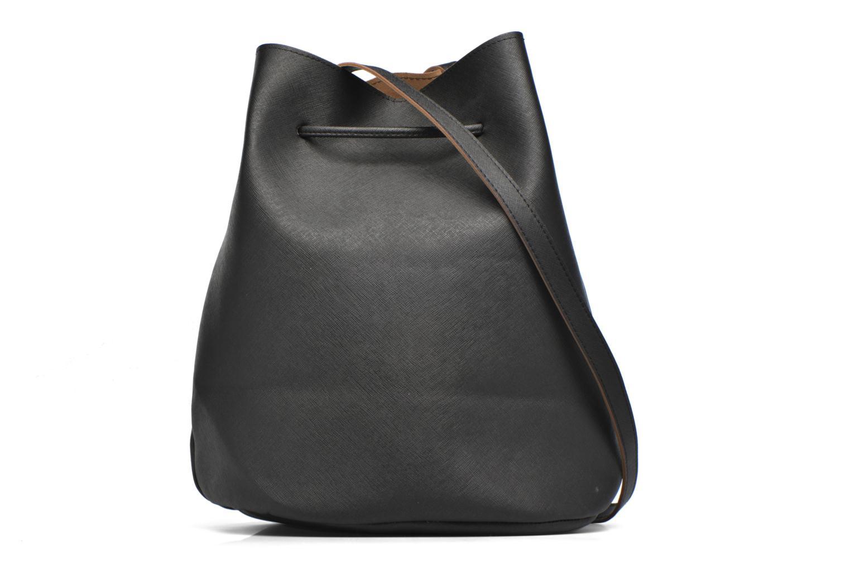Handtassen Pieces Lellis Tighten bag Zwart voorkant