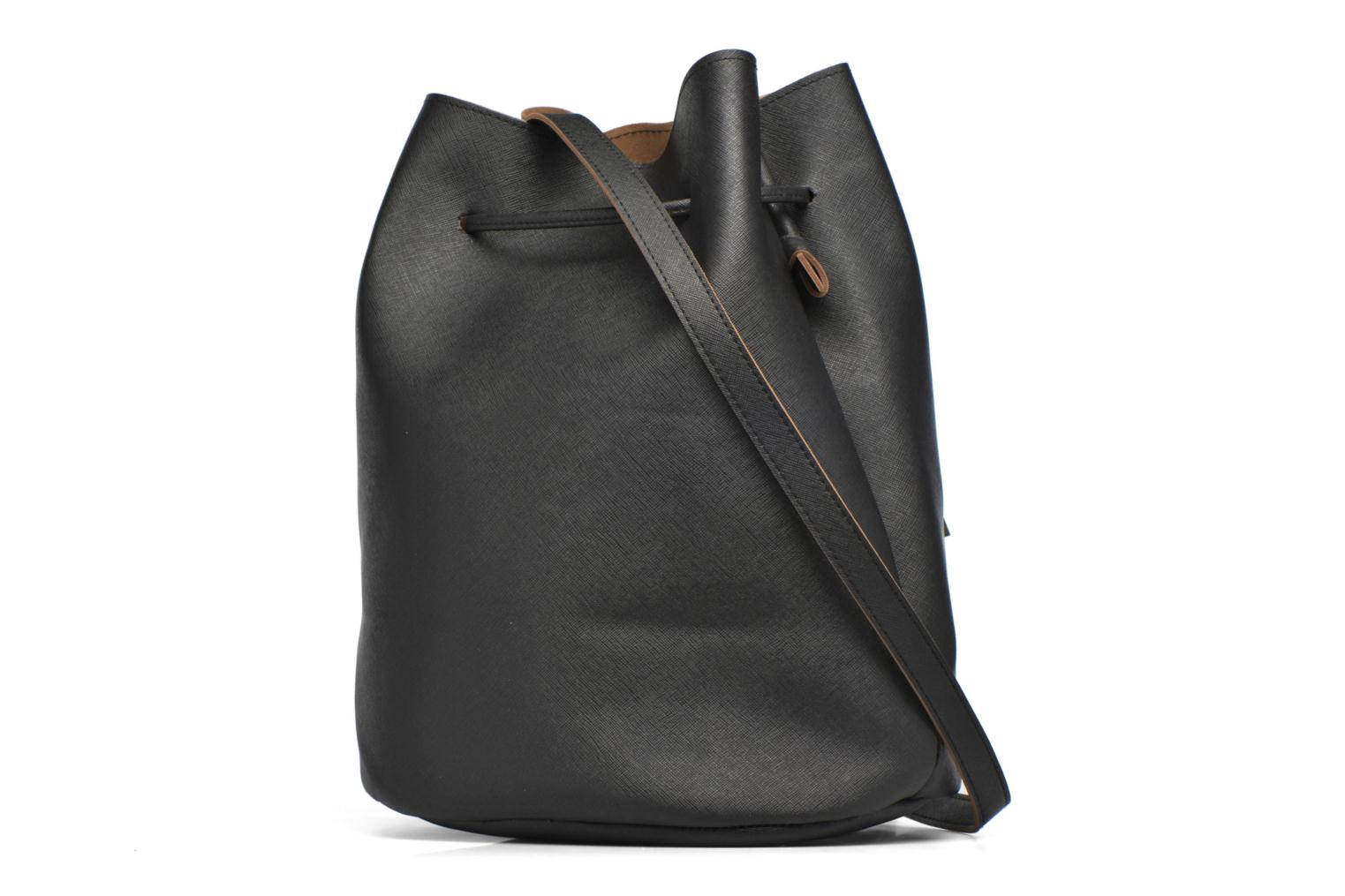Handbags Pieces Lellis Tighten bag Black view from the right