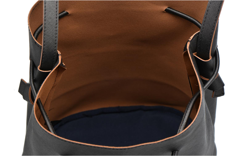 Handtassen Pieces Lellis Tighten bag Zwart achterkant