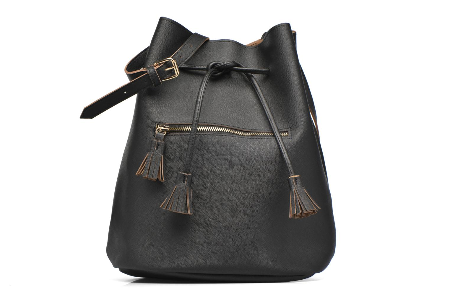Bolsos de mano Pieces Lellis Tighten bag Negro vista de detalle / par