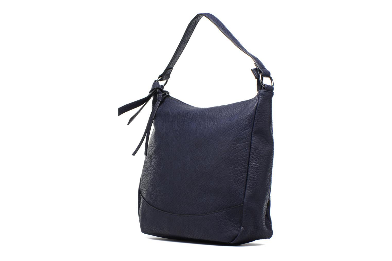 Borse Pieces Laney Bag Azzurro modello indossato