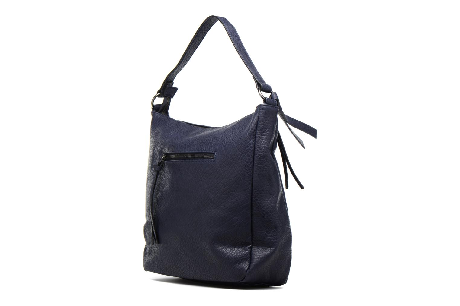 Handbags Pieces Laney Bag Blue view from the right