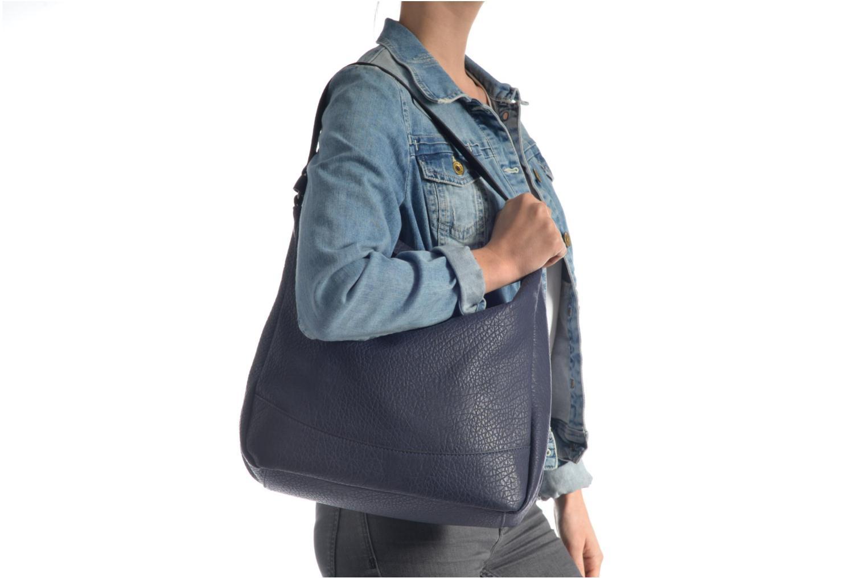 Handtaschen Pieces Laney Bag blau ansicht von oben