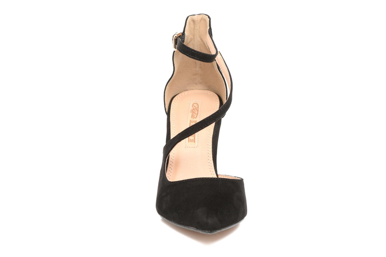 Escarpins Buffalo Joly Noir vue portées chaussures