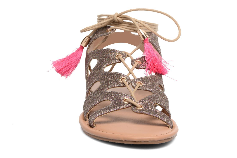 Sandales et nu-pieds Buffalo Masla Rose vue portées chaussures