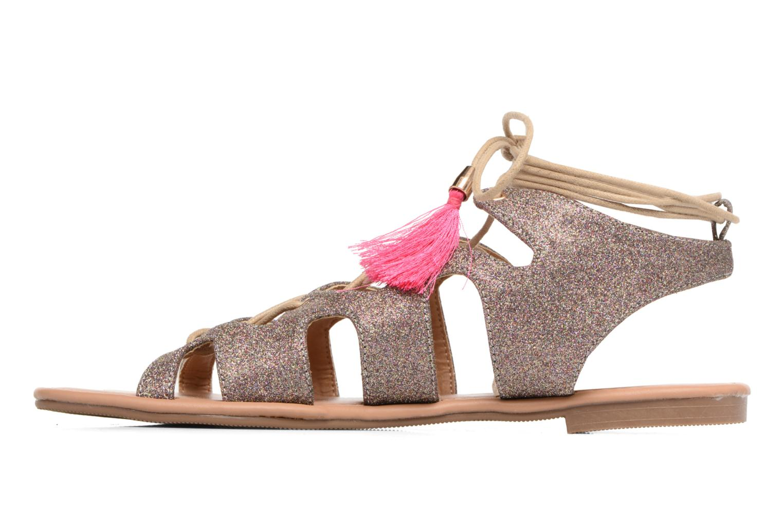 Sandales et nu-pieds Buffalo Masla Rose vue face