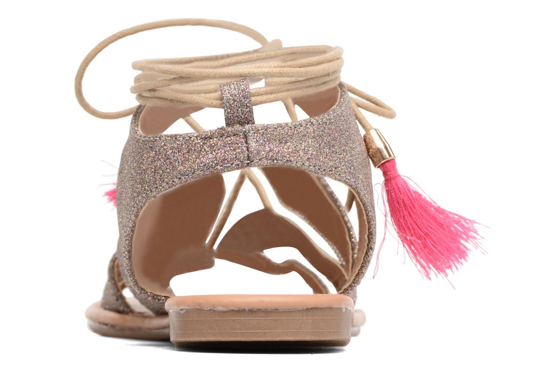Sandales et nu-pieds Buffalo Masla Rose vue droite