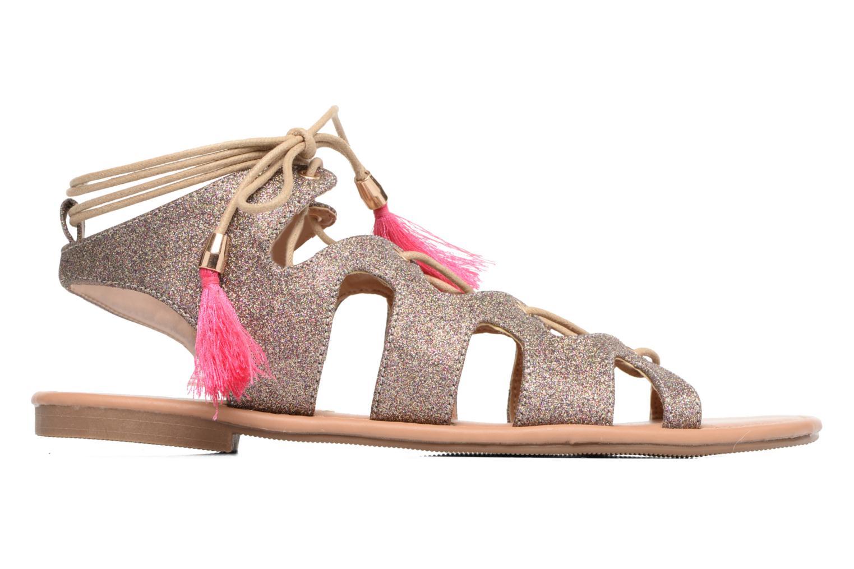 Sandales et nu-pieds Buffalo Masla Rose vue derrière