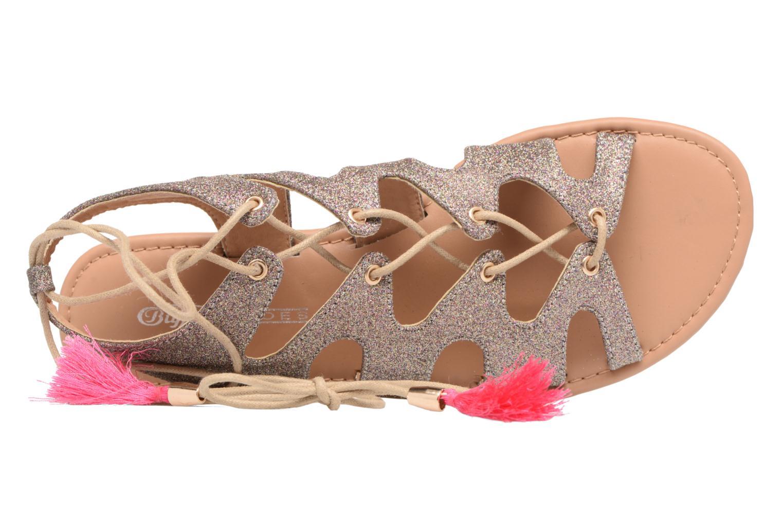 Sandales et nu-pieds Buffalo Masla Rose vue gauche