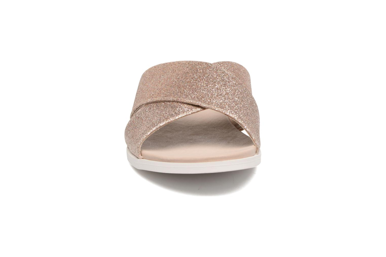 Mules & clogs Buffalo Harma Pink model view