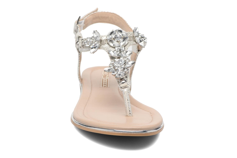 Sandales et nu-pieds Buffalo Inma Argent vue portées chaussures