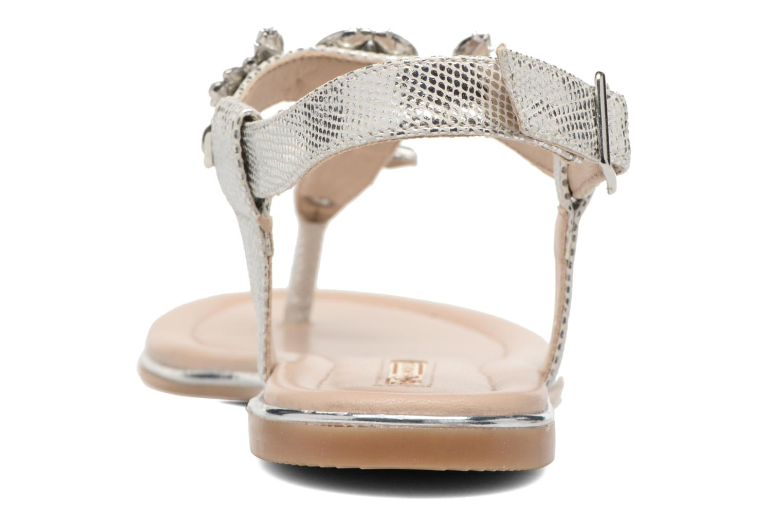 Sandales et nu-pieds Buffalo Inma Argent vue droite