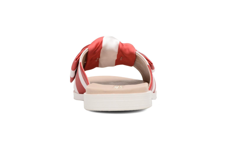 Satine Satin Red White 04