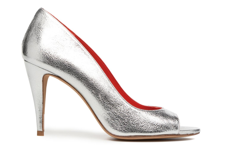 Zapatos de tacón Pura Lopez Lorina Plateado vistra trasera