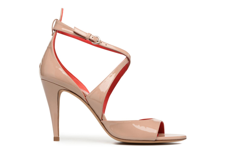 Sandals Pura Lopez Irina Beige back view