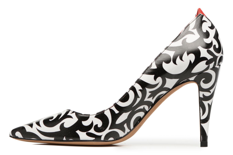 Zapatos de tacón Pura Lopez Reika Multicolor vista de frente