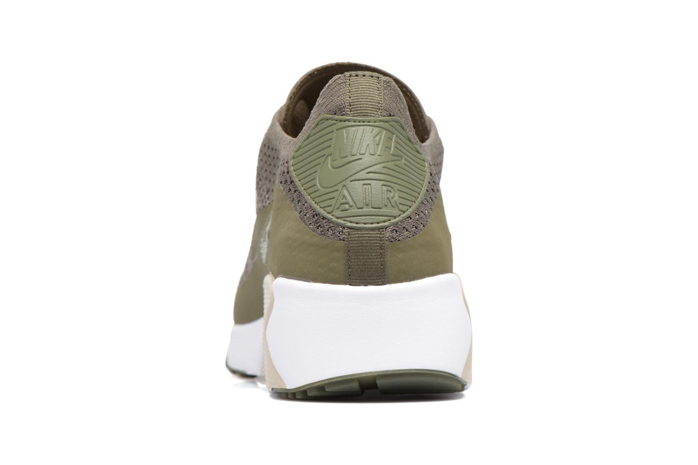 Baskets Nike Air Max 90 Ultra 2.0 Flyknit Vert vue droite