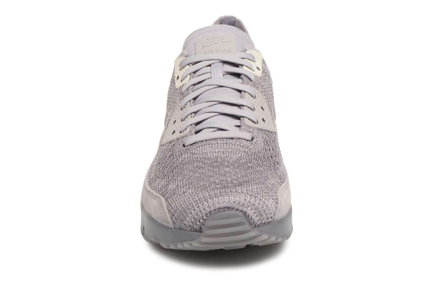 Trainers Nike Air Max 90 Ultra 2.0 Flyknit Grey model view
