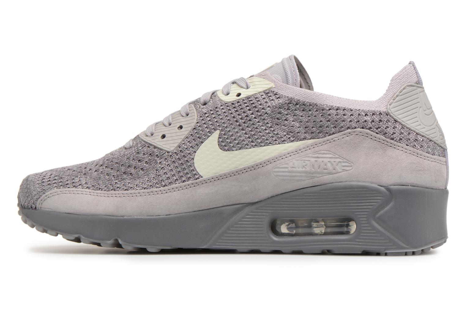 Trainers Nike Air Max 90 Ultra 2.0 Flyknit Grey front view