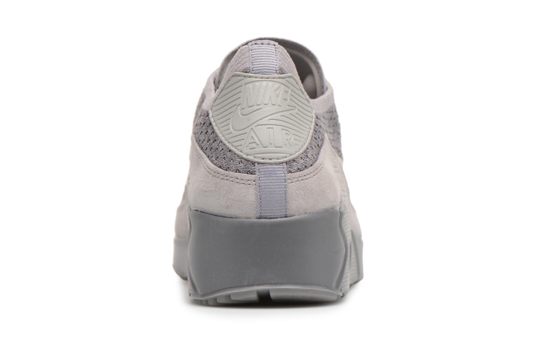 Baskets Nike Air Max 90 Ultra 2.0 Flyknit Gris vue droite