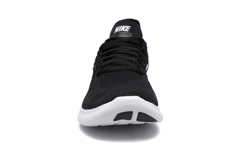 Sport shoes Nike Nike Free Rn Flyknit 2017 Black model view