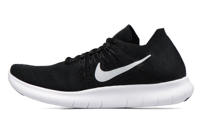 Sport shoes Nike Nike Free Rn Flyknit 2017 Black front view